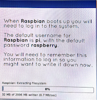 Raspbian Extracting