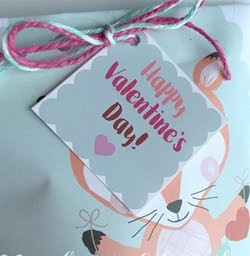 Free Valentine Gift Tag