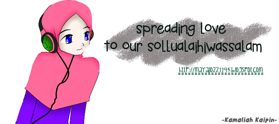 spreading love to our sollualaihiwassalam:)