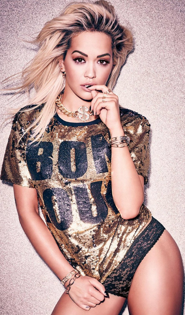 La sexy Rita Ora