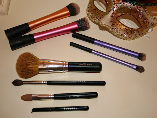My Most Used Make up Brushes ♥