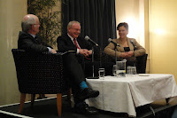 Jude Collins in conversation with Martin McGuinness and Mary-Lou McDonald