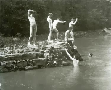 thomas eakins the swimming hole photograph