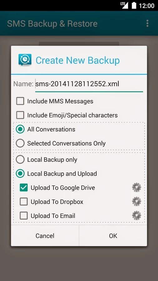 Cara Backup & Restore SMS di Android