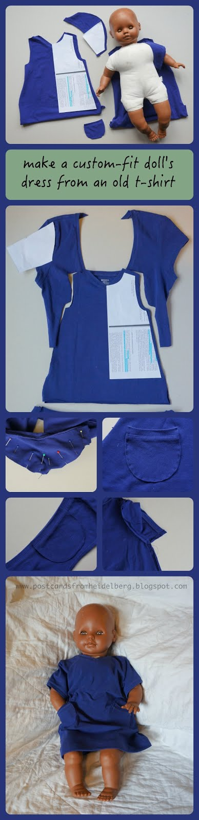 doll dress sewing tutorial