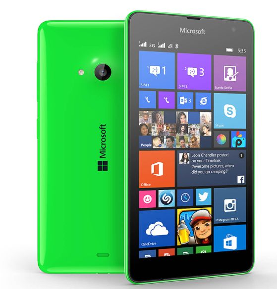 Microsoft Lumia 535 Affordable 5 MP Selfie Smartphone Available for Rs.9199