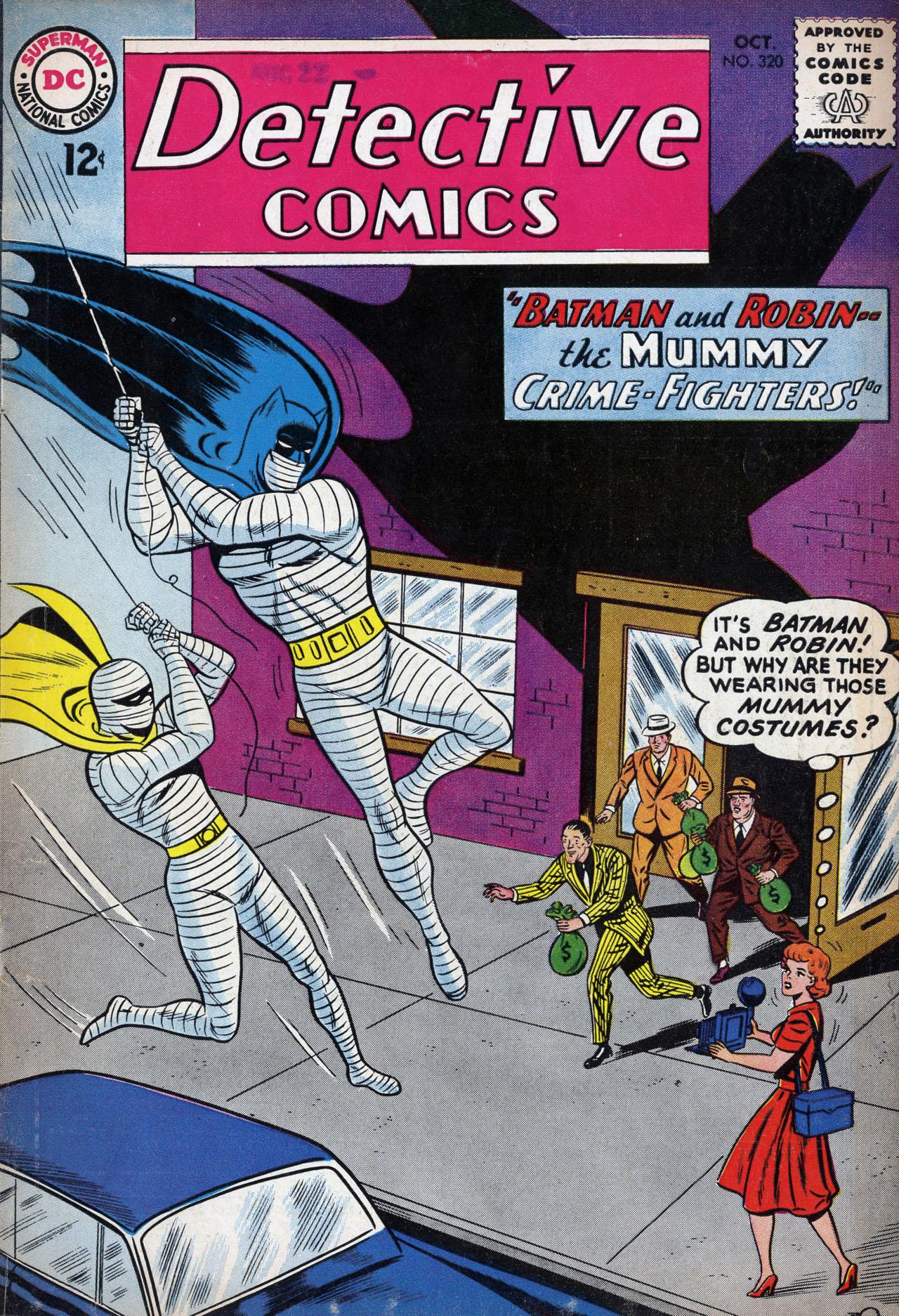 Detective Comics (1937) 320 Page 1
