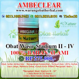 Obat Wasir Paket 2 - De Nature Indonesia