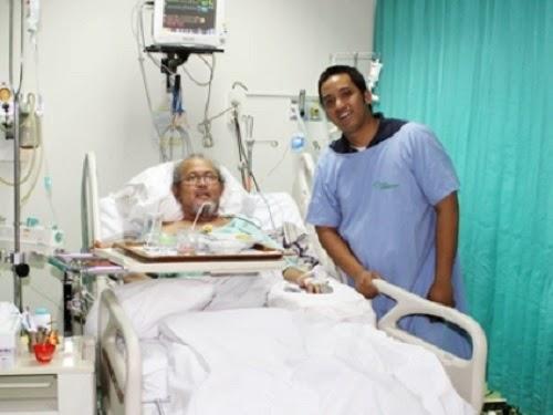 Pepeng saat di rumah sakit (arsip Yahoo)