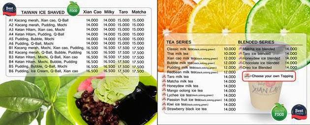 Xian Cao Taiwanese Drink and Dessert Cafeteria - Siliwangi Resto [ xiancaotaiwanese.ga ]