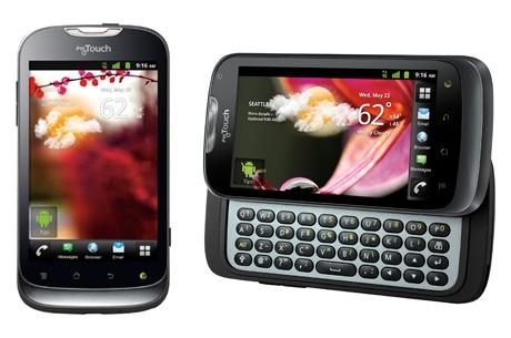 T-Mobile myTouch dan myTouch Q Produk Huawei