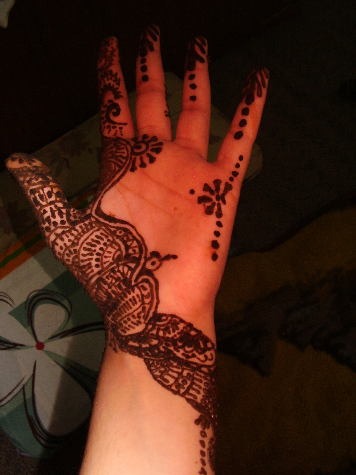 Youth Journalism International Artful Henna Designs Add Beauty To