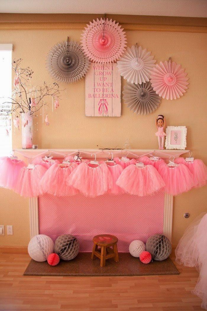 Parttis fiesta tem tica de ballet actividades - Decoracion party ...