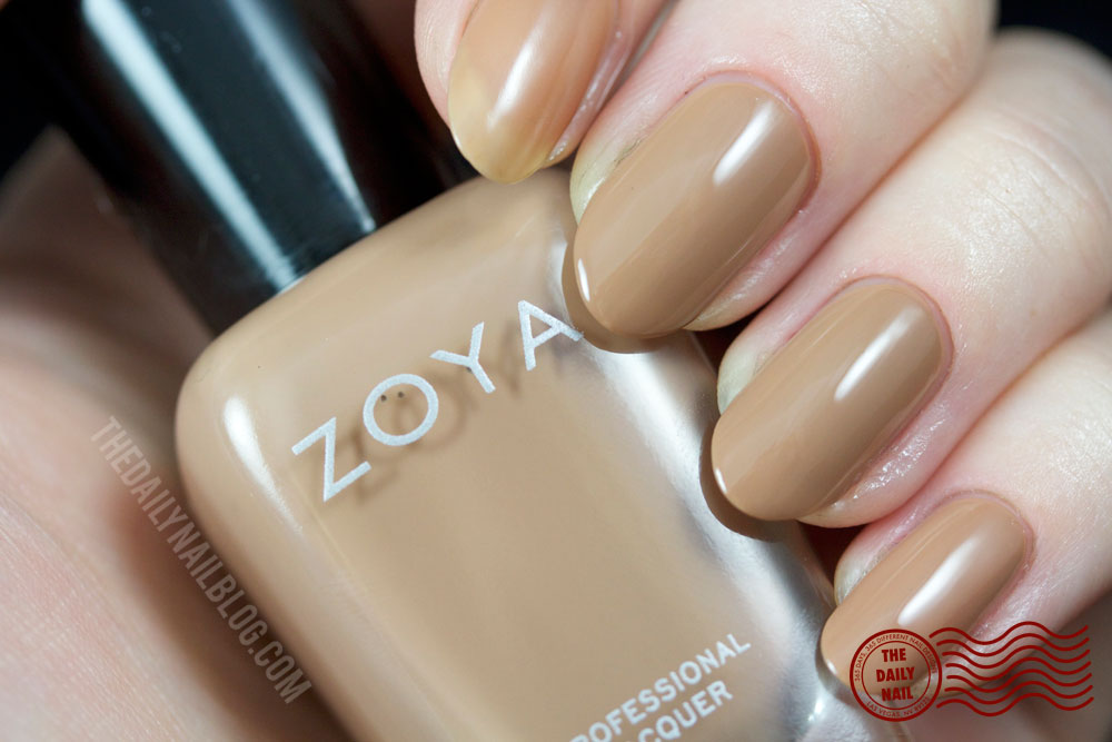 Zoya Cashmere Flynn Swatch Fall 2013 with bottle