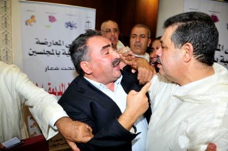 مبروك العيد يحول البرلمان إلى صراع بدني