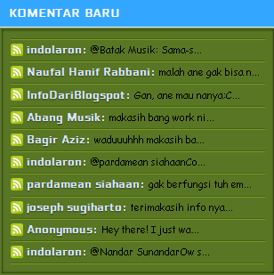 recent comments elegan