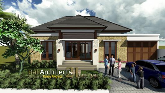 Desain Rumah Minimalis Di Pertigaan Jalan