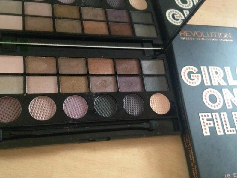 Makeup revolution girls on film palette