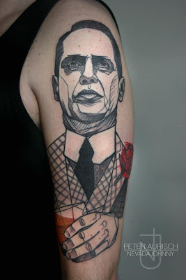 Tatuaje de Nucky Thompson