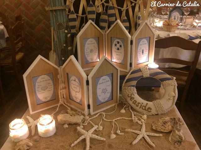 decoración original, marinera, de bautizos, bodas, comuniones, badajoz