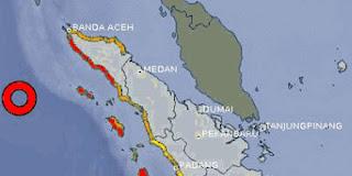 Kabar gempa di Nangroe Aceh Darussalam (NAD), Rabu (11/4) petang