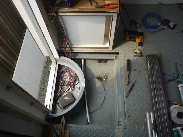 Water heater compartment for Webasto Thermpo Top E