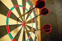type of dartboard