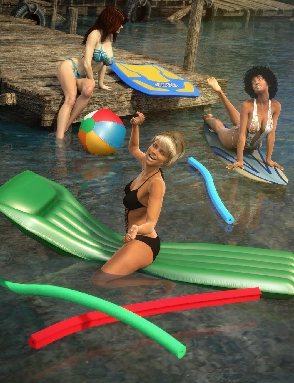 Plage et piscine Fun