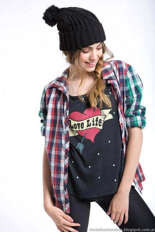 Como quieres invierno 2015 ropa de moda juvenil.