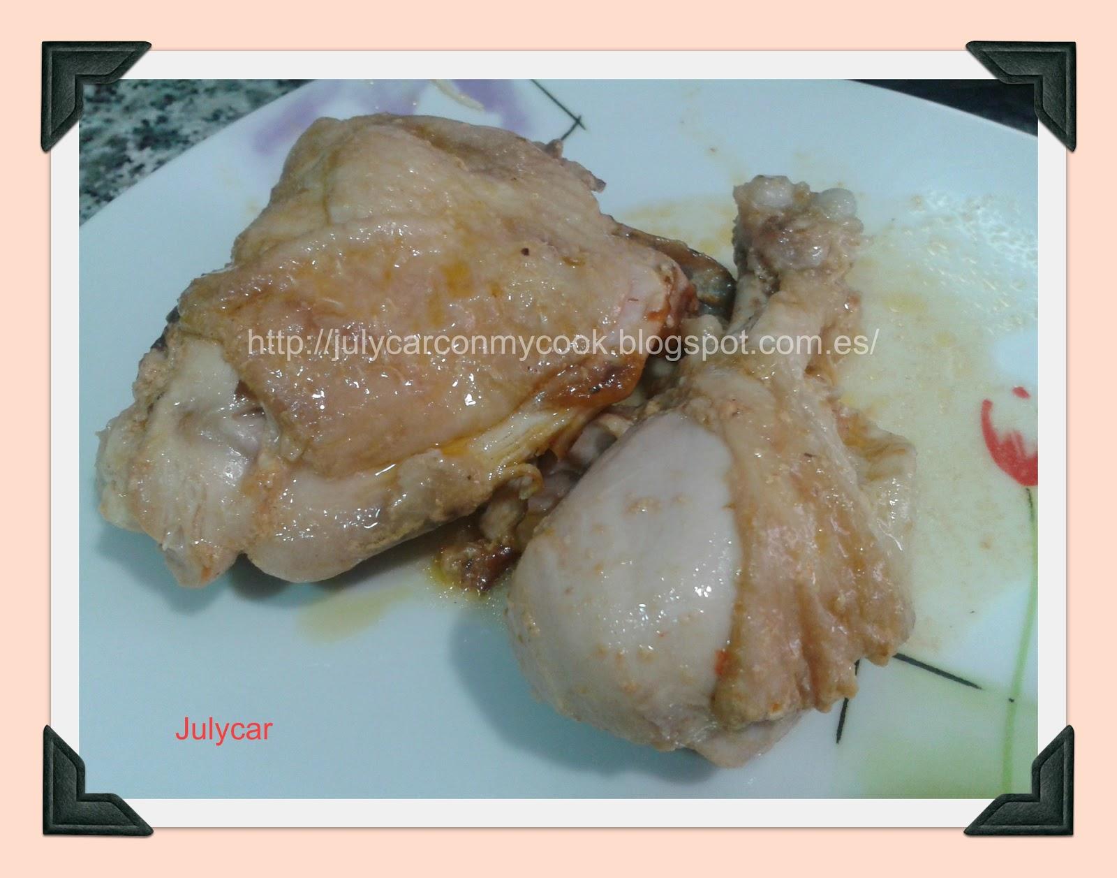 Recetas dukan by julycar pollo con tomate y nata - Salsa de tomate y nata ...