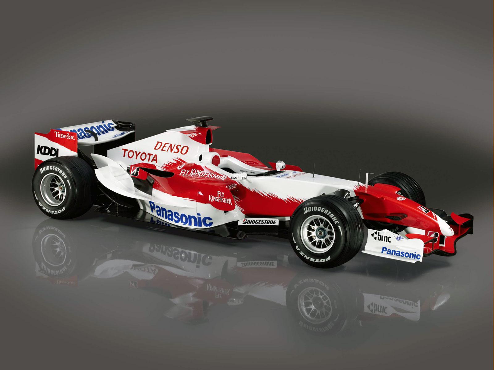 Toyota New F1 Car. Toyota New F1 Car. Etiketler: Toyota