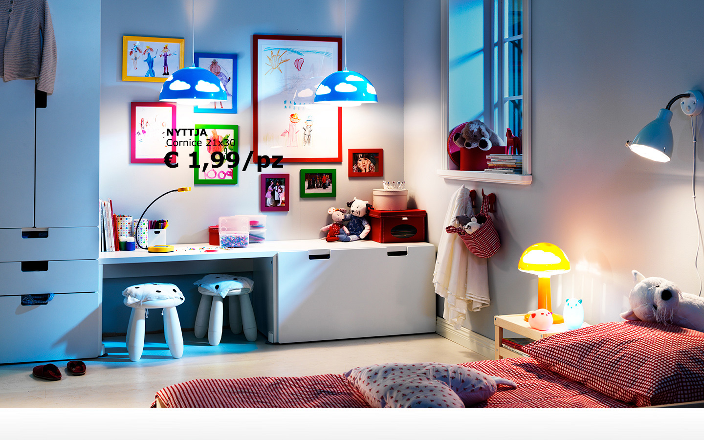 Ikea e momichan evviva la scuola - Ikea mobili camera bambini ...