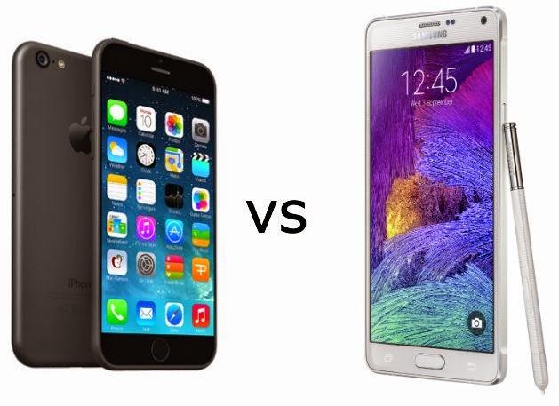 Galaxy Note 4 supera iPhone 6 Plus em testes de qualidade de tela
