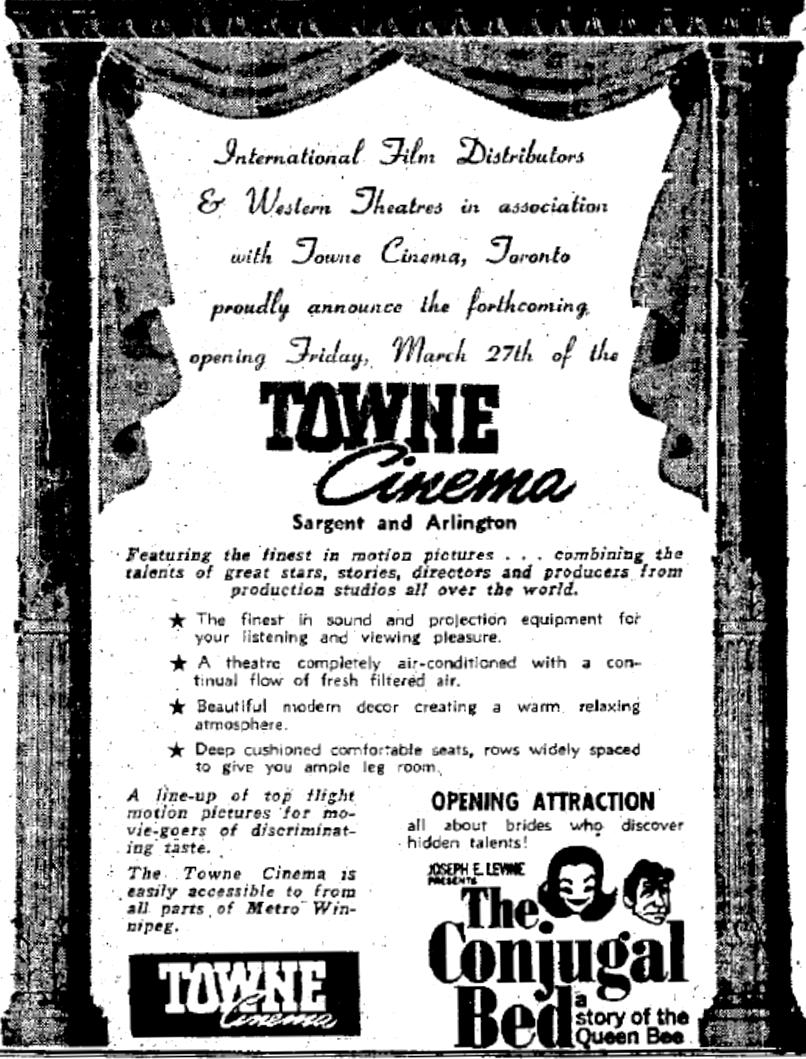 March 26, 1963, Winnipeg Free Press
