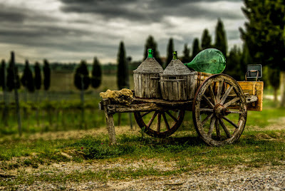 La carreta del vino - The wine waggon - Canon EOS 7D