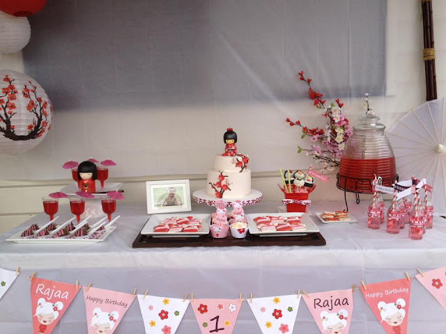 Japanese Themed Birthday Party For Teen Girl
