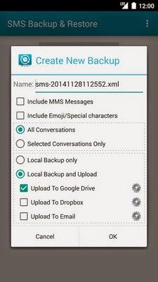 aplikasi ini berfungsi untuk membackup dan Restore pesan  Aplikasi SMS Backup  Restore untuk Android