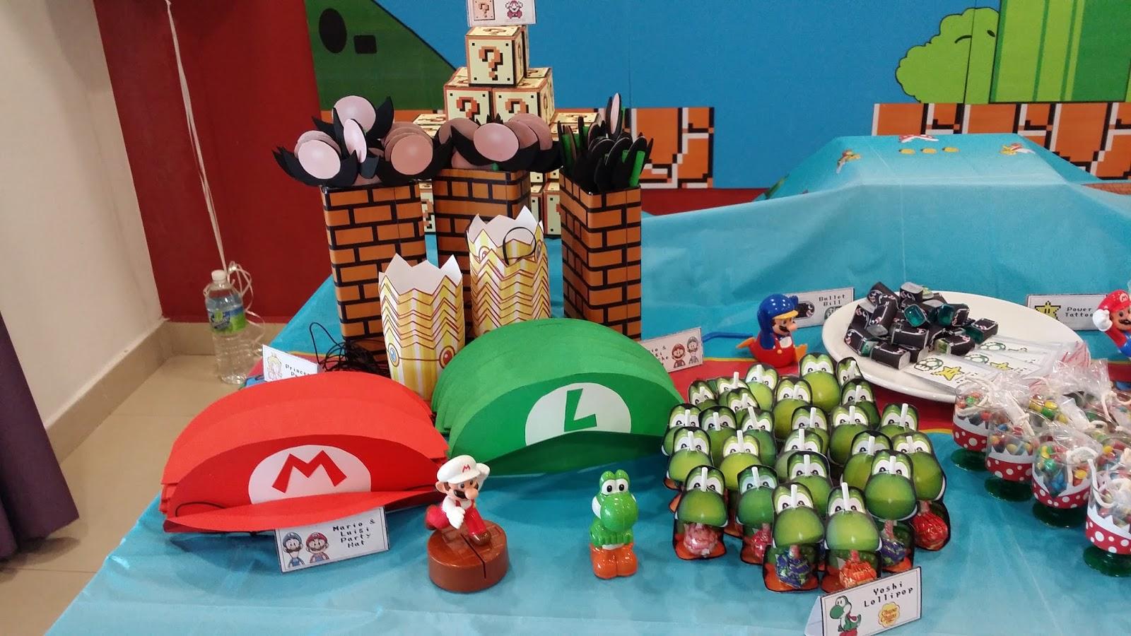 Ez Party Diy My Very Own Diy Super Mario Themed Party