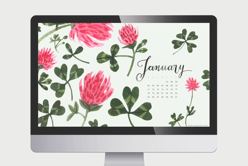 Oana Befort - january calendar