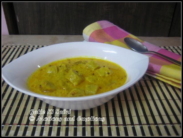 Gatte Ki Sabzi/ Rajasthani Style Gatte Ki Sabzi