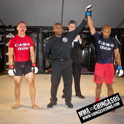MMA Fight Winner