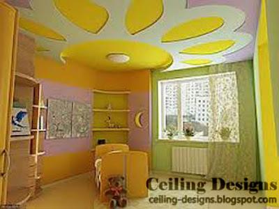 Stretch False Ceiling Designs Kids Room Amazing Ceiling Design