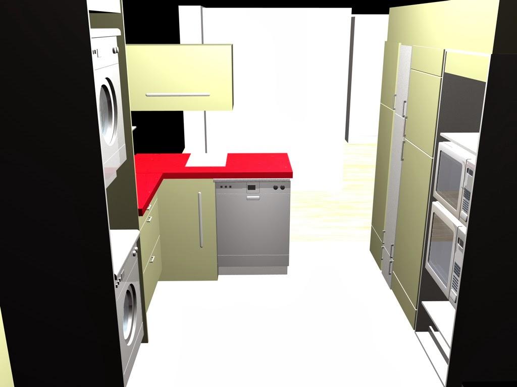 cocina en esquina