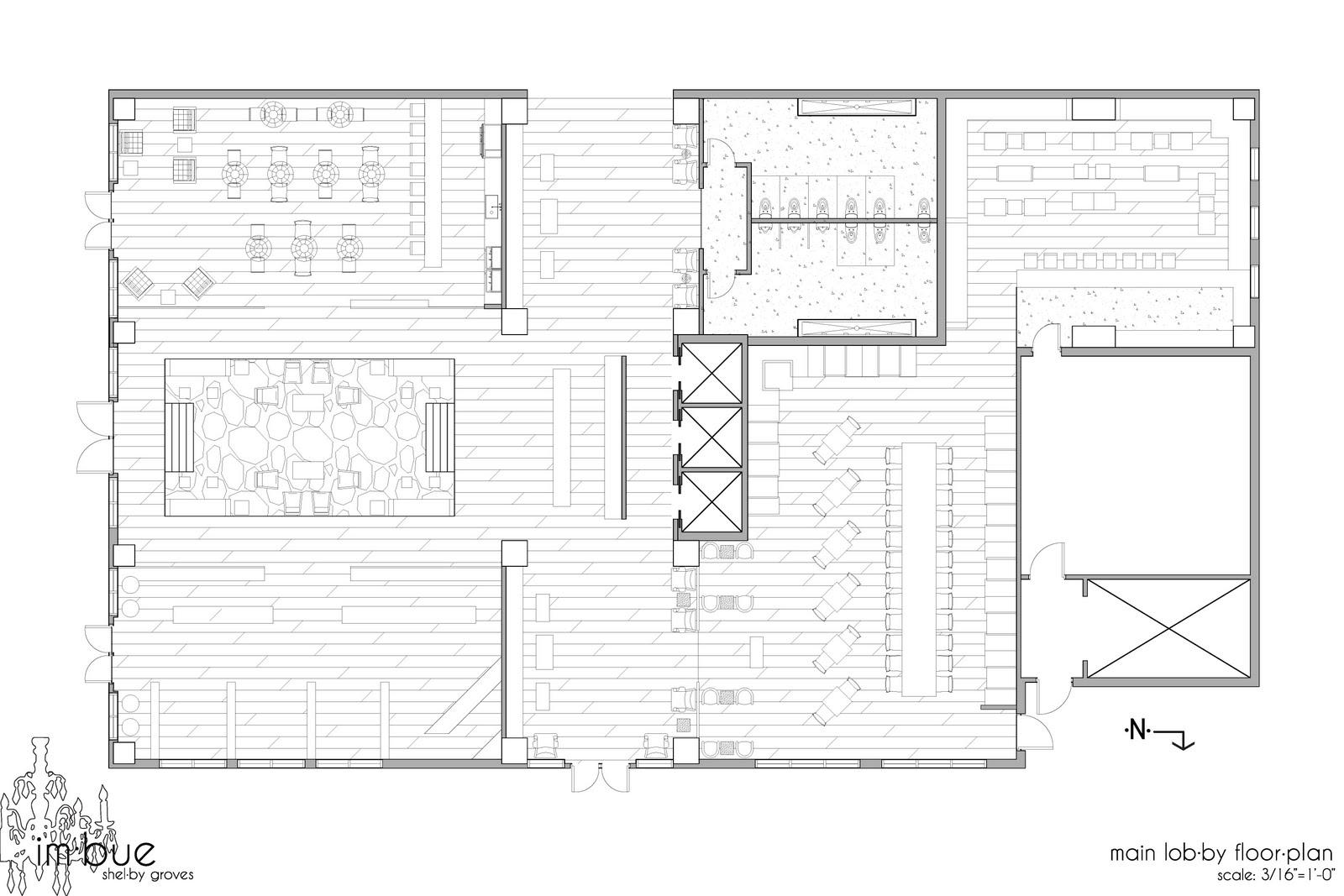 starbucks floor plan layout