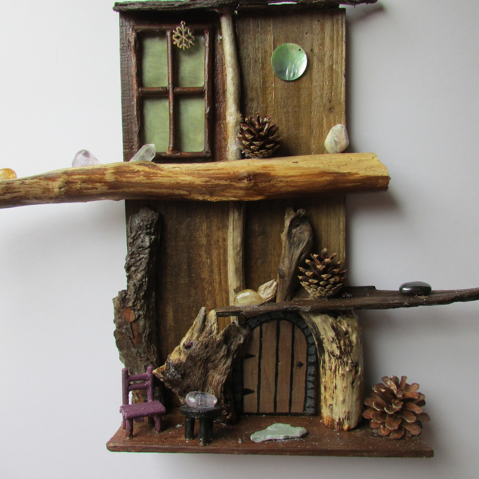 Fairy doors fairy gardens fairy door wall art for Fairy door for wall