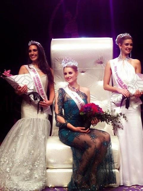 Miss Universe New Zealand 2014