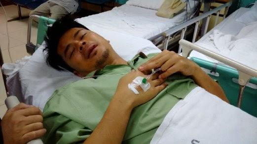 Awal Ashari Hanya Cedera di Bibir