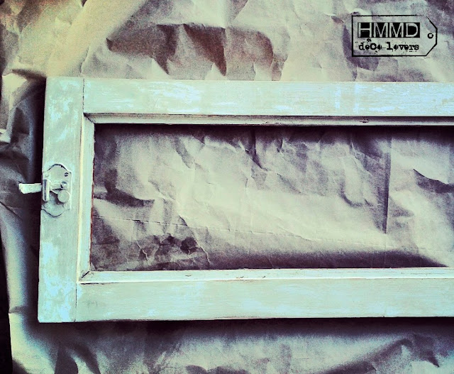 Cómo hacer un espejo con una ventana antigua, ventana vieja decapada convertida en espejo, how to make a mirror with an old window Handmademania HMMD