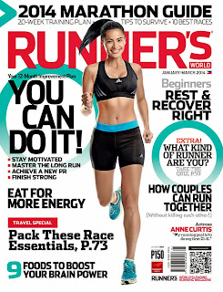 Magazine Cover : Anne Curtis Magazine Photoshoot Pics on Runner's World Magazine Philippines January/March 2014