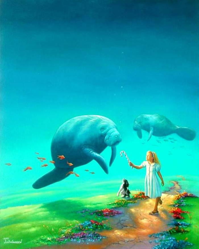 24 Mind Blowing and Surreal Paintings by Jim Warren